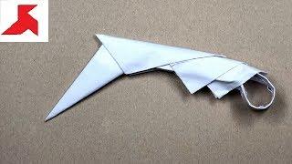как сделать керамбит из бумаги