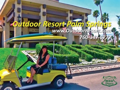 Outdoor Resort Palm Springs Cathedral City California CA