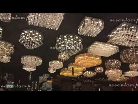 oceancrystal ceiling lamp