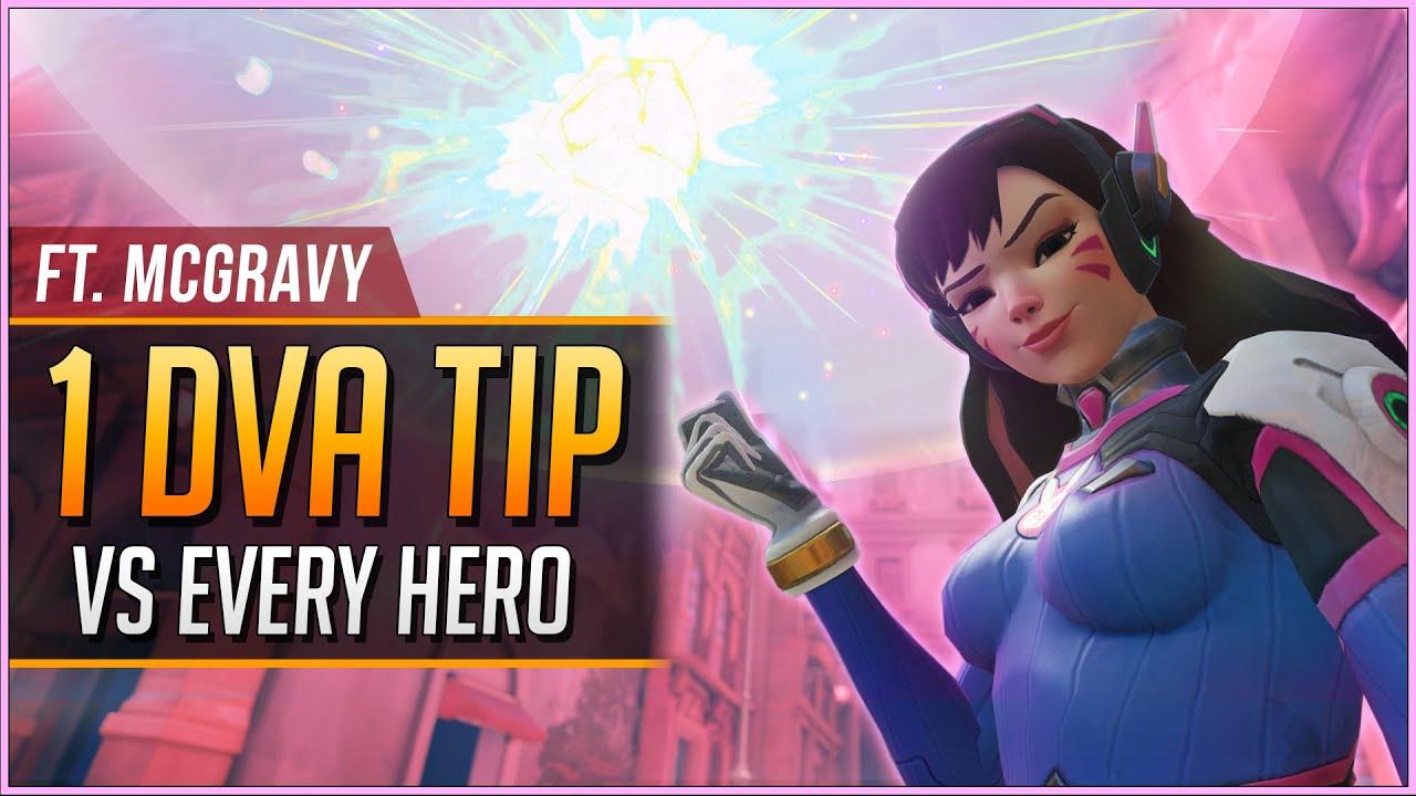 Download 1 D.VA TIP vs EVERY HERO ft. McGravy (2021)