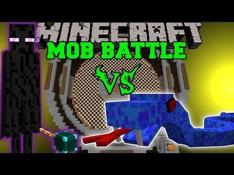ENDER LORD VS SEA VIPER & SHELOB - Minecraft Mob Battles - Legendary Beasts Mods