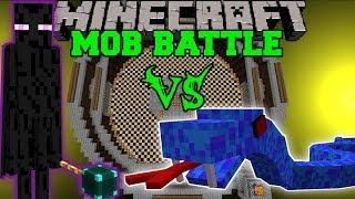 ENDER LORD VS SEA VIPER & SHELOB - Minecraft Mob Battles - Legendary Beasts Mods