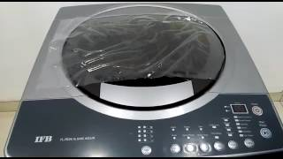 How to use IFB TOP LOAD WASHING machine TL-RDS 6.5 KG AQUA | full demo | step by step |