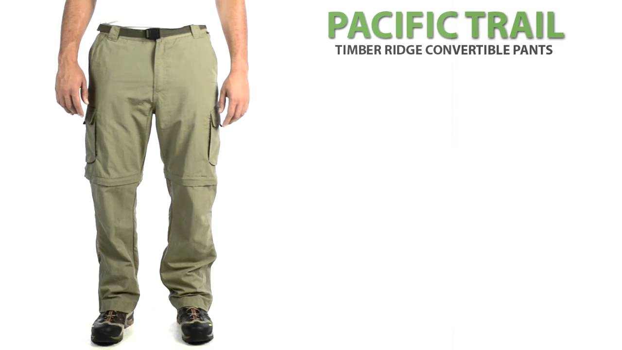 1f1e9ca2825ee Pacific Trail Timber Ridge Convertible Pants - UPF 30