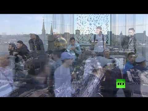 بث مباشر لشعائر صلاة عيد الفطر من الجامع الكبير في موسكو