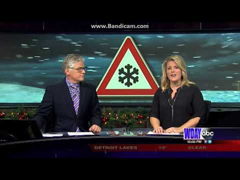 WDAY: WDAY News At 10pm Cold Open--12/19/17