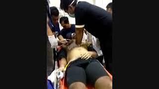 Detik Detik Kiper Persela Choirul Huda di Rumah Sakit Usai Insiden Tabrakan