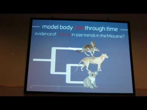 Brennan: Late Miocene biome turnover constrained body size evolution across Australian vertebrates