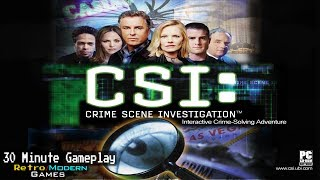 CSI: Crime Scene Investigation - PC - 30 Minute Gameplay