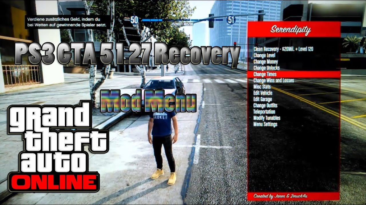 Gta 5 Mod Menu Ps3 127 Download - cracknot's diary