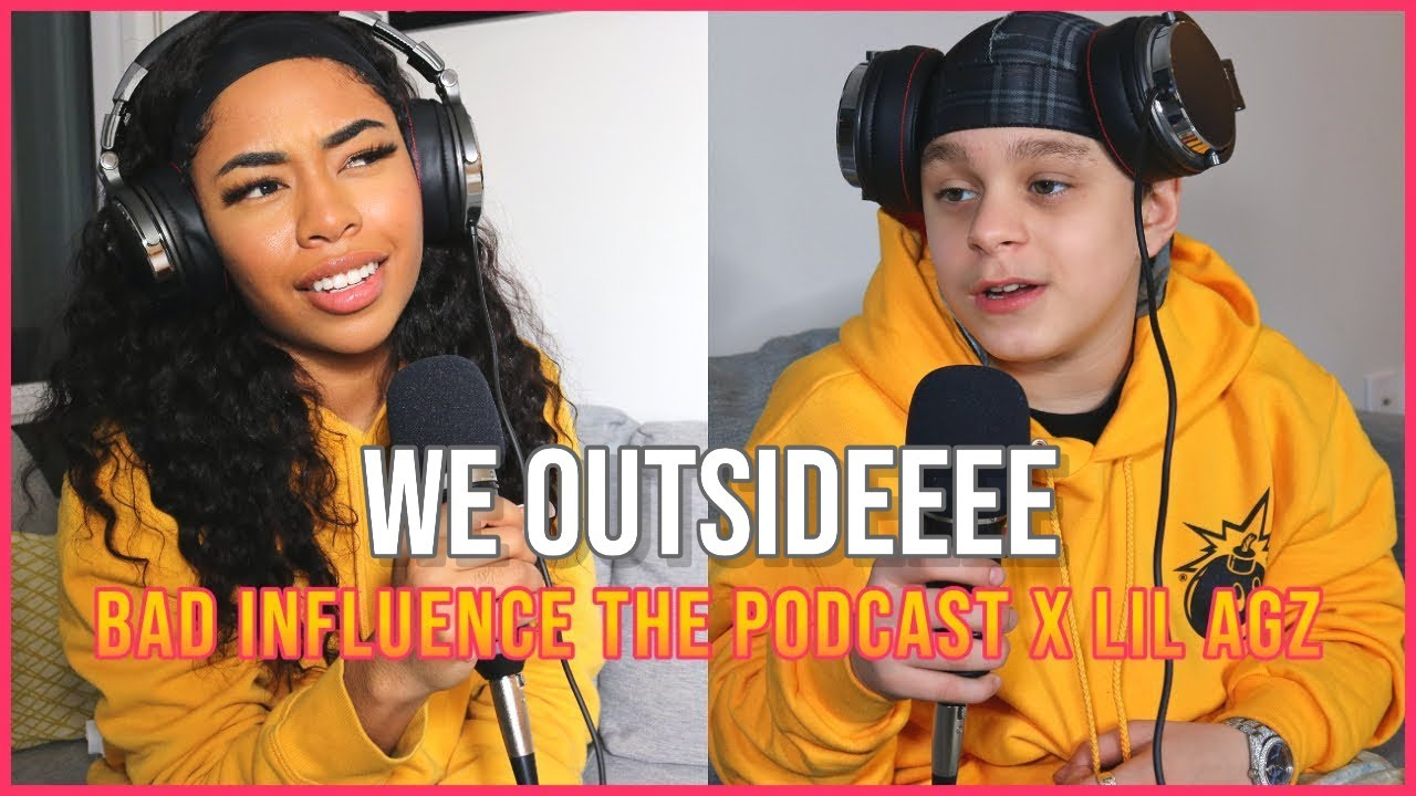 LIL AGZ TALKS ABOUT HIS DATING LIFE, NEW EP & MORE!   BAD INFLUENCE (EP#6) with Chandler Alexis