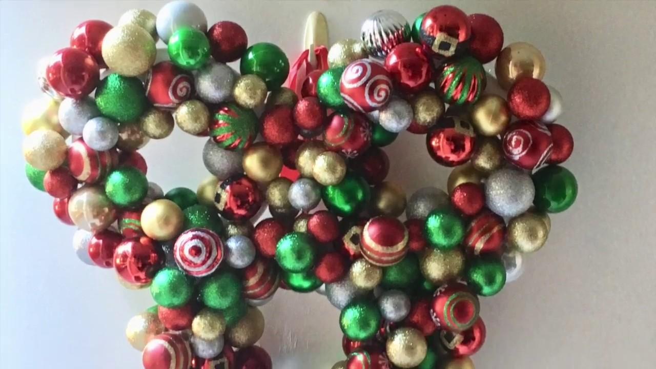 diy mickey mouse christmas wreath - Mickey Mouse Christmas Wreath