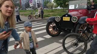 Ретро парад Санкт Петербург 2019