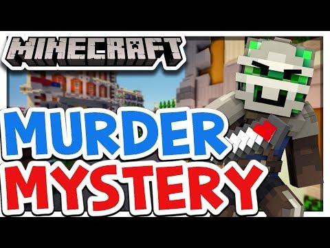 WER IST DER MURDER?  ★ Murder Mystery SERVER auf dem Handy!「 MINECRAFT PE DEUTSCH 1.2 MULTIPLAYER 」