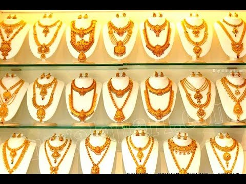LATEST GOLD ANTIQUE HARAM DESIGNS || Latest South Indian Jewellery