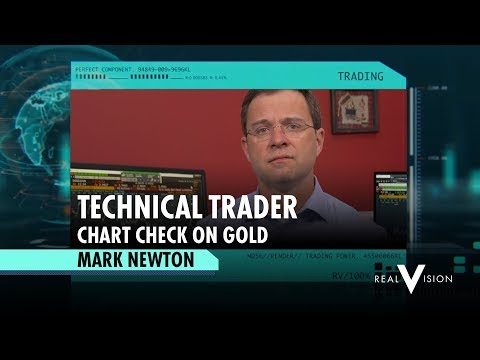 Chart Check on Gold | Mark Newton | Technical Trader | Real Vision Trader