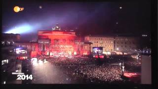 Trans Siberian Orchestra Brandenburg Gate NYE 2014