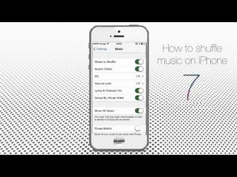 How to Shuffle Music on iPhone or iPad