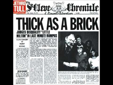 Jethro Tull - Thick as a Brick I Part 1 (Really Don't Mind If You Sit This One Out) mp3