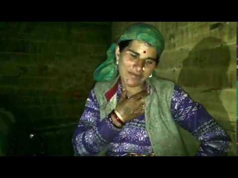 A  Helpless woman seeking help from PM Modi .../ Uttakhand/ Mountain Village/ OSLA Village