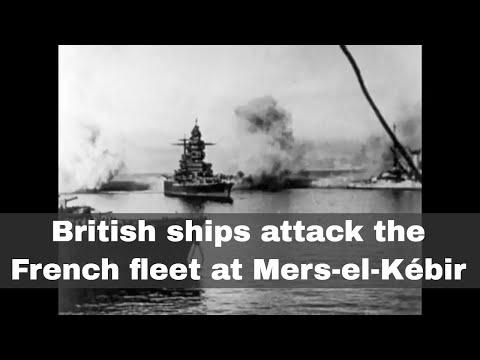 3rd July 1940: British navy attacks the French fleet at Mers-el-Kébir