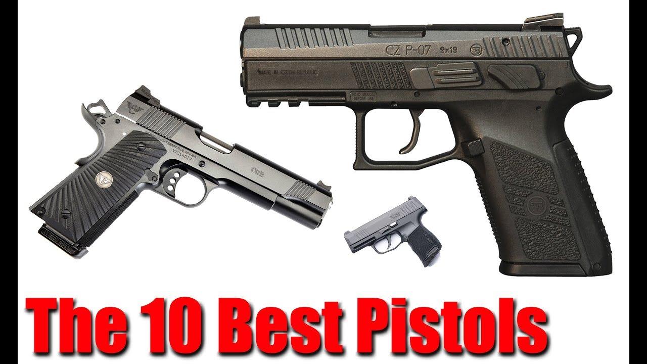 My Top 10 Favorite Pistols