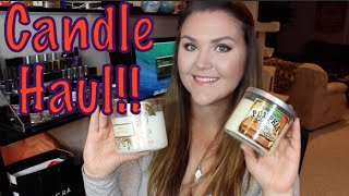 Bath And Body Works Candle Haul!