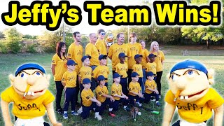 Jeffy's Teeball Team WINS!!!