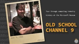 #TBTch9 Anders Hejlsberg - Tour through computing industry history at the Microsoft Museum