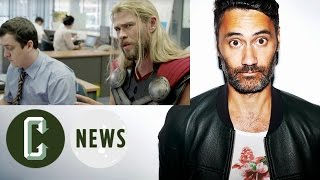 See What Thor Was Up to During Civil War in Hilarious Video | Collider News