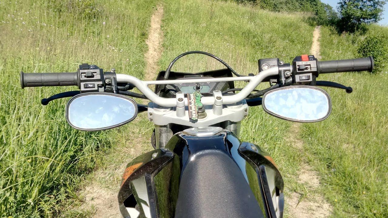 о пользе зеркала на велосипеде - YouTube