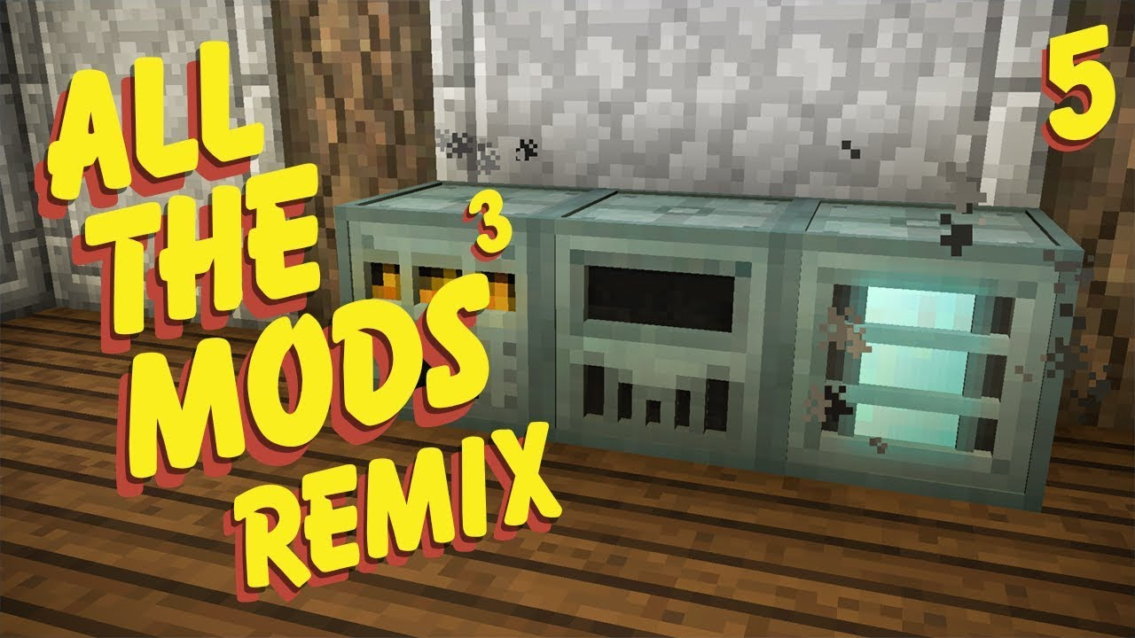 All The Mods 3 Remix Ep  5 Automated Ore Processing