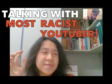 TALKING WITH MOST RACIST YOUTUBER!!