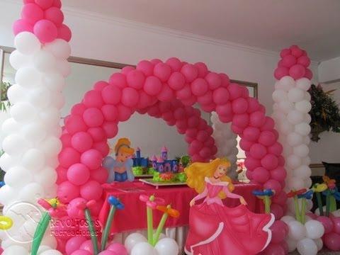 Decoracion princesas de disney aurora la bella durmiente for Decoracion de princesas