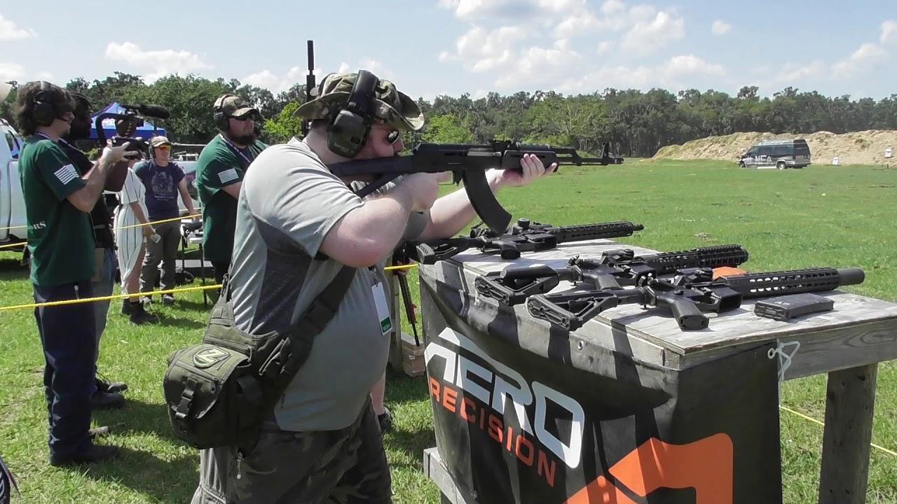 Автоматическая стрельба оружием AERO Precision