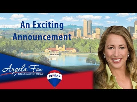 denver real estate angela fox an exciting announcement youtube