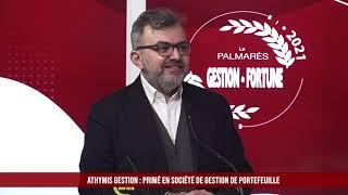 Palmarès des Fournisseurs 2021 - Athymis Gestion