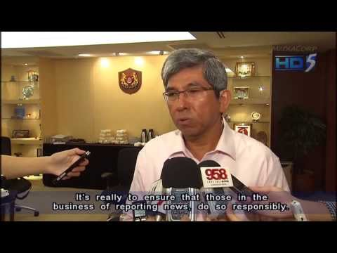 Yaacob Ibrahim: New licensing regime will not limit public discourse - 04Jun2013