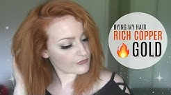 Dying My Hair | Rich Copper Gold