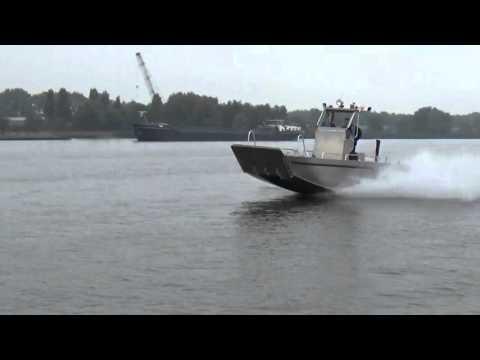 Aluminium workboat Alunautic Cat 7.00 promo