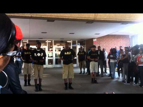 AΦA Fraternity, Inc. TAU Chapter |  Black Greek Council Yard Show 2011 Pt. 1