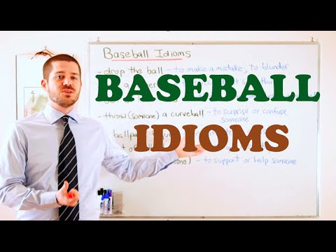 Idiom Series - Baseball Idioms