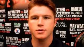 Canelo Alvarez and Floyd Mayweather - Statements at Houston Press Conference