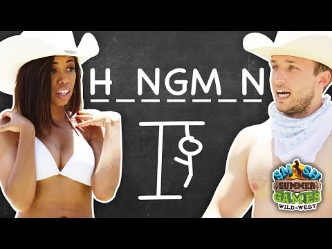 HANGMAN IN REAL LIFE (Smosh Summer Games)