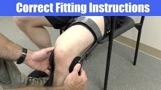 DonJoy Knee Brace Instructions (ACL, PCL, LCL, MCL, Meniscus, Osteoarthritis)