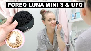 Testing FOREO Luna 3 and FOREO UFO Products | Jenelle Nicole