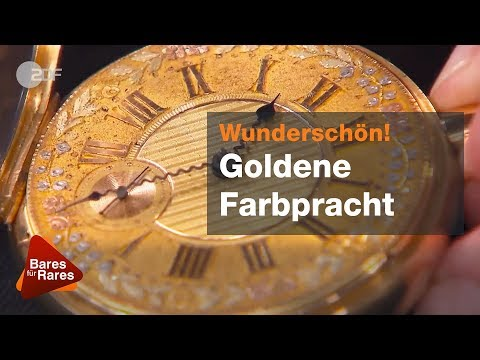 Was 'ne Wucht! Virtuoser Wecker findet schlagwerkig Käufer - Bares für Rares vom 08.11.2018 | ZDF