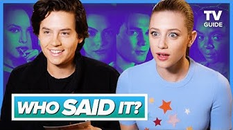 Riverdale Cast Plays WHO SAID IT? l Cole Sprouse, Lili Reinhart, KJ Apa
