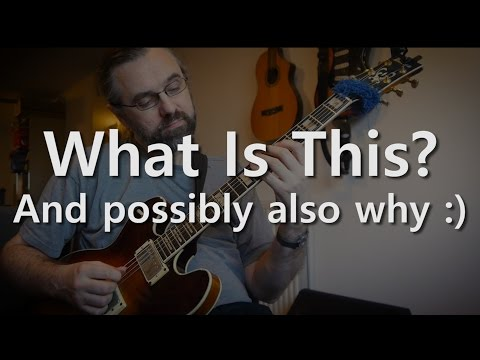 What is This? - Jazz Guitar Solo