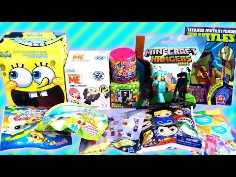 Surprise Blind Bag - My LittlePony, TMNT, Minecraft, SpongeBob, DC Comics, Funko, Yoohoo and More!